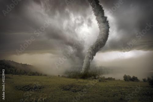 Cuadros en Lienzo approaching tornado