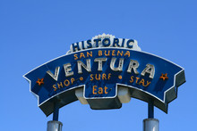 Ventura Welome Sign