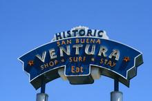 Ventura Welome Sign