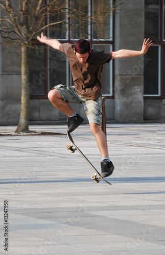 Fototapety, obrazy: skateboarding