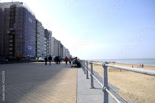 Poster Cote Promenade Ostende