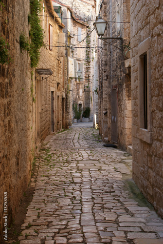 Canvas Prints Narrow alley Narrow alley