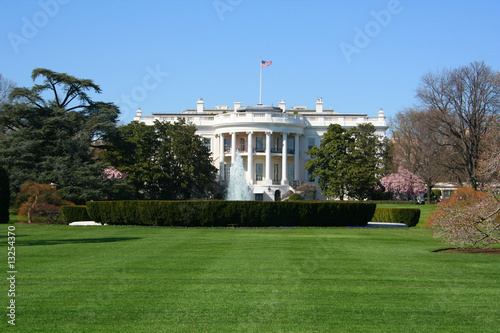 Fotografie, Obraz  White House South Lawn