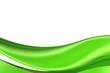 canvas print picture - grüner bogen