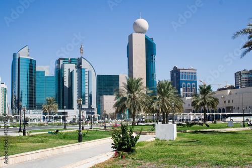 Deurstickers Abu Dhabi Abu Dhabi