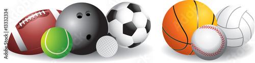 Fotografia, Obraz Sports balls