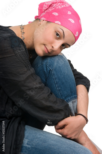 Fotografie, Obraz  Breast  Cancer Survivor