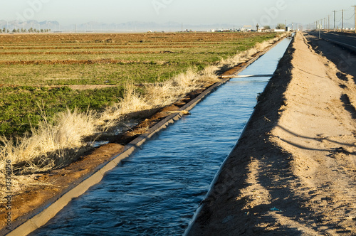 Foto irrigation canal