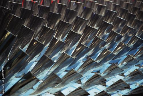 Fotografie, Obraz  Turbine Blades