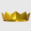 canvas print picture - goldene krone