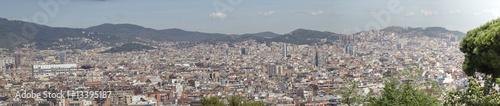 Photo Barcelona, Spain panorama, city's skyline