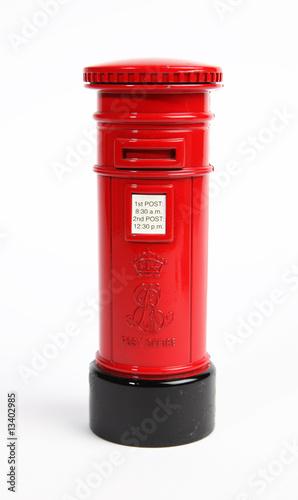 Obraz na plátně British postbox