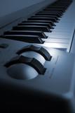 Fototapeta Do przedpokoju - Piano keyboard