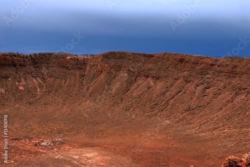 Tuinposter Meteor Crater