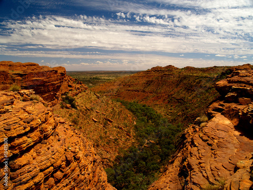 Foto op Canvas Australië Kings Canyon