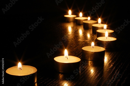Fotografie, Obraz  romantic candle light