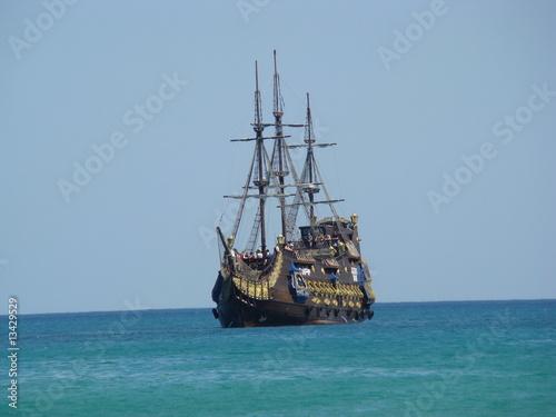 Canvas Prints Ship Piratenschiff