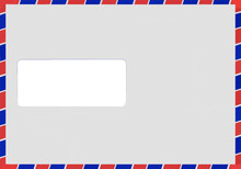 Air Mail Envelope Vector Isolated
