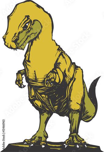 Aufkleber - Tyranosaur