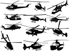 Big Collection Of Helicopters ...