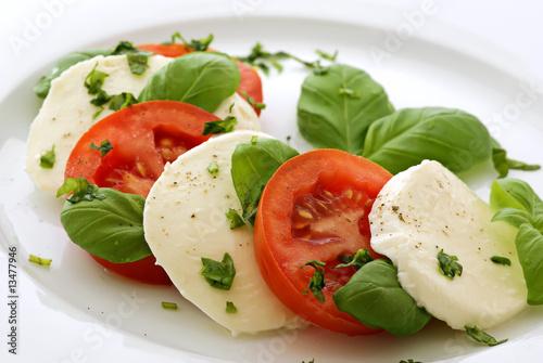 Fotografie, Obraz  Tomaten Mozzarella