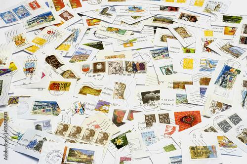 Fényképezés  Fond de timbres