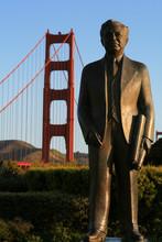 Joseph Strauss Statue - Golden Gate Bridge