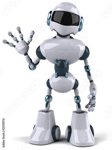 Okleiny na drzwi - przestrzenne 3D  robot