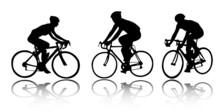 Bicyclists - Vector