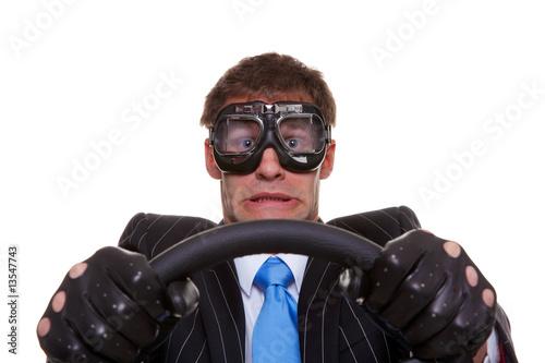Fotografía  Scared driver