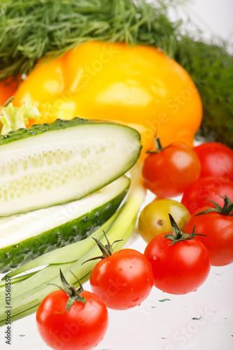 In de dag Verse groenten .Fresh vegetables.