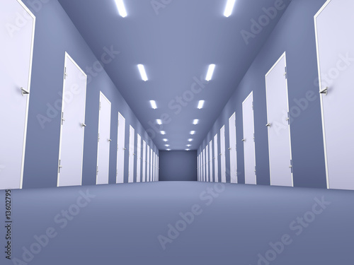 Fototapety przestrzenne  budynek-biurowy-wnetrze
