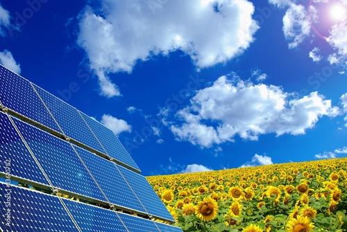 Zdjęcie XXL energia słoneczna