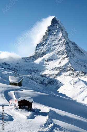 Photo  Matterhorn in Winter