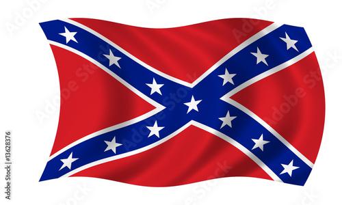 südstaaten konföderierte fahne confederate states flag Wallpaper Mural