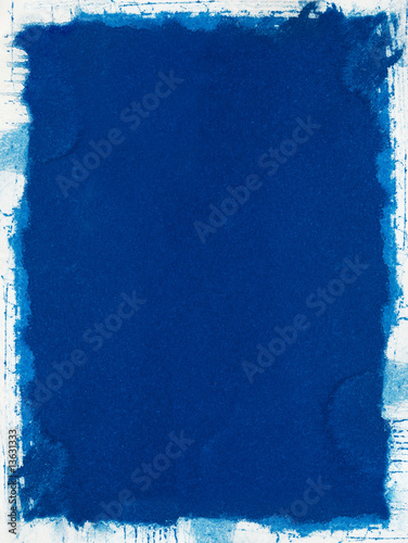 Blue Grunge Paper Wallpaper Mural