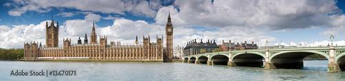 Foto op Canvas Londen Big Ben panoramic
