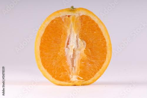 Photo połówka pomarańczy
