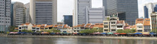 Singapore - Old And New On The River