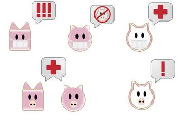 Swine flu Bubble