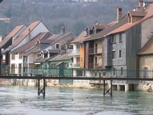 Ornans - Passerelle Sur  La Loue
