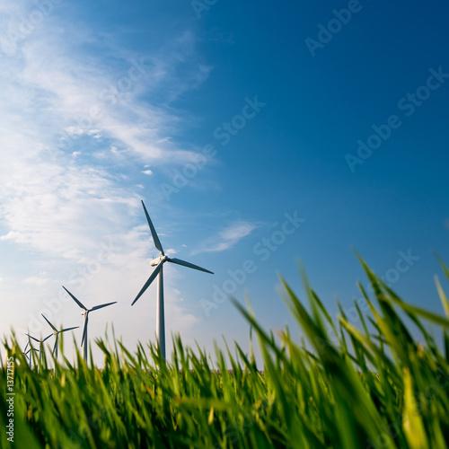 Fotografie, Obraz  Windkraft