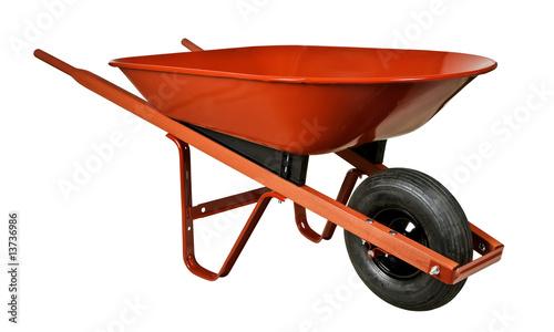 Obraz na płótnie Red Wheelbarrow