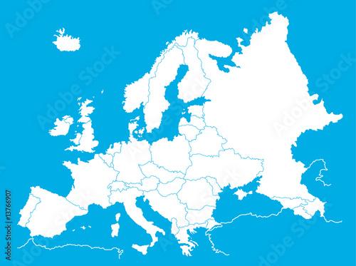 Carte De Ieurope.Europe Map Carte De L Europe Buy This Stock Vector And Explore