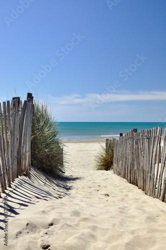 Fotografía  Accès à la plage