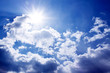 canvas print picture - heaven and clouds 2