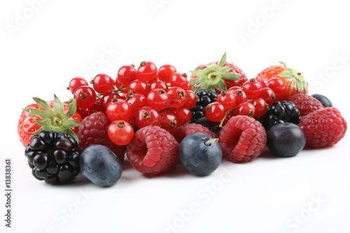 Canvas Prints Fruits Sommerbeeren