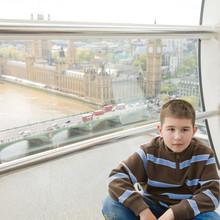 Little Boy In London Eye Capsu...