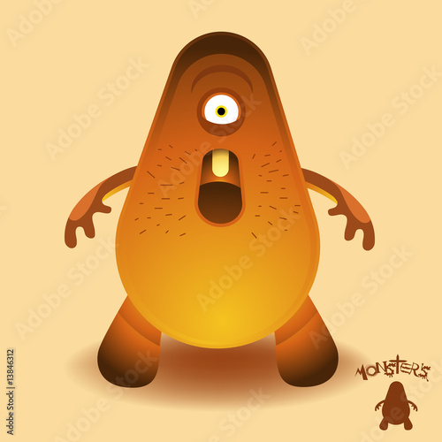 Fotografie, Obraz Monsters - Mr Lumbering Head