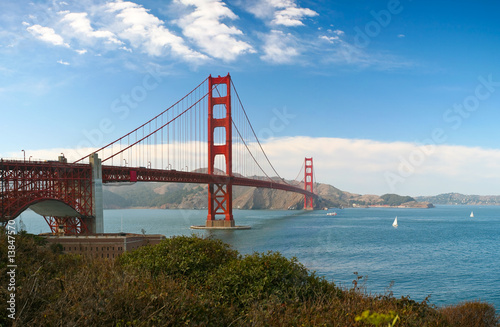 Golden Gate bridge #13847570